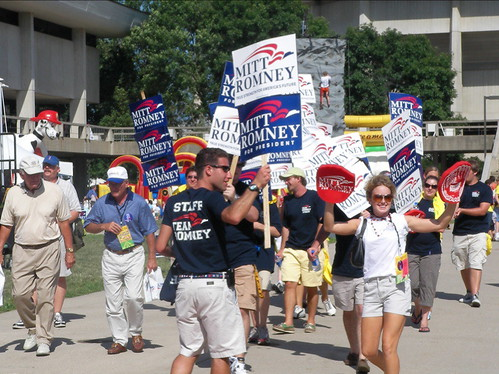Romney's straw poll supporters | by IowaPolitics.com