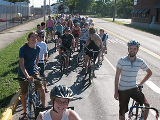 Critical Mass, Richmond, Indiana, August 2007 | by Mark Stosberg