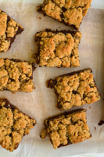 Chocolate Peanut Butter Revel Bars | by Seeded at the Table