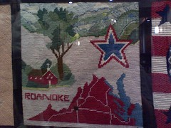 Bicentennial Needlepoint: Roanoke County | by Vicky TGAW