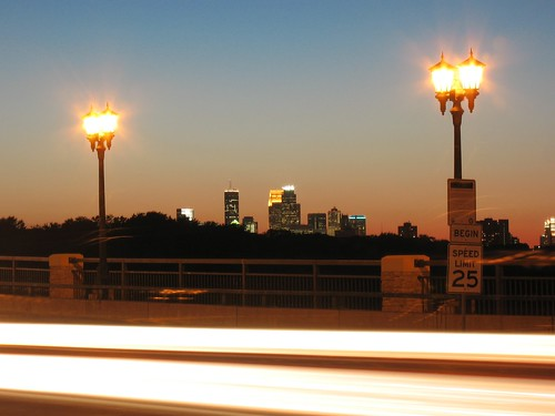 Minneapolis from the East Lake bridge | by Micah Taylor