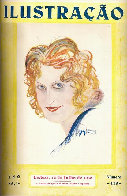 Ilustração, No. 110, Julho 16, 1930 - capa