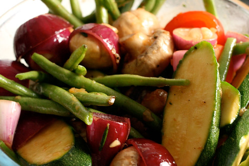 Vegetable Kebab marinade | What's on this bowl: red onion, g ...