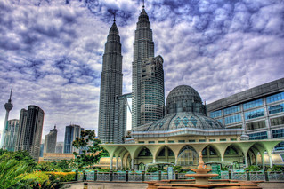 The Mosque and the Towers | by Sandmania