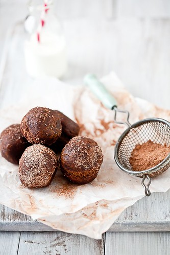Candy Filled Chocolate Cake Doughnuts | by tartelette