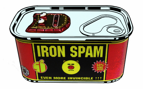 "IRON SPAM - ""THE WARHOL MACHINE"" 