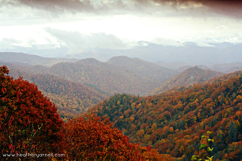 Great Smoky Mountains October Landscape