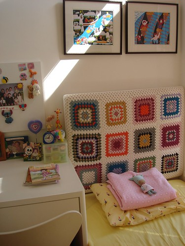 Granny Squares Headboard | by Little Purl of the Orient