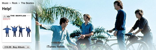 Help on iTunes (Beatles on bikes in the Bahamas) | by carltonreid