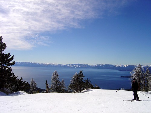 Lake Tahoe View from the Top of the Lift | by *~Dawn~*