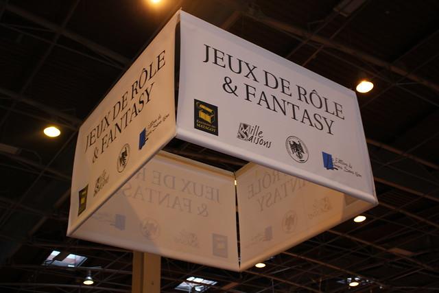Jeux de rôle et fantasy - Livre Paris 2016