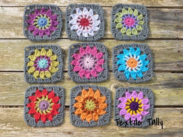 Crochet squares-WIP