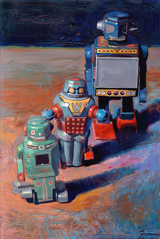 3 Robots by Eric Joyner