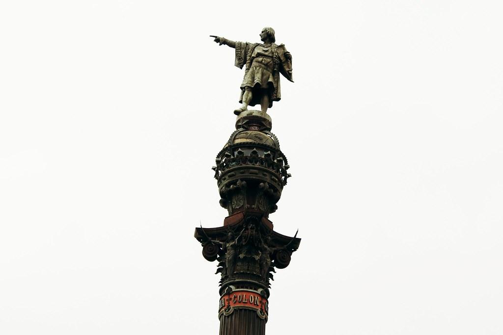 Drawing Dreaming - visitar Barcelona - Mirador de Colom