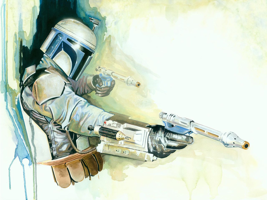 Star Wars Jango Fett by Brian Rood