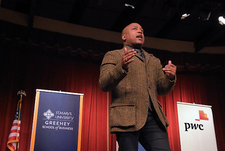 Forum on Entrepreneurship Breakfast Series featuring Daymond John
