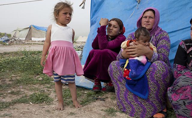 Refugiados sirios en Iraq