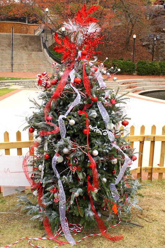 Christmas Tree @ Huntsville's Big Springs Park 2015