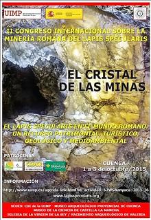 Galería nº 31 (IIº CONGRESO INTERNACIONAL SOBRE MINERÍA ROMANA DEL LAPIS SPECULARIS - CUENCA 2015)