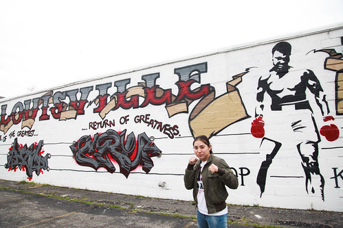 Boxers from Kazakstan visit TKO Boxing in Louisville, Kentucky
