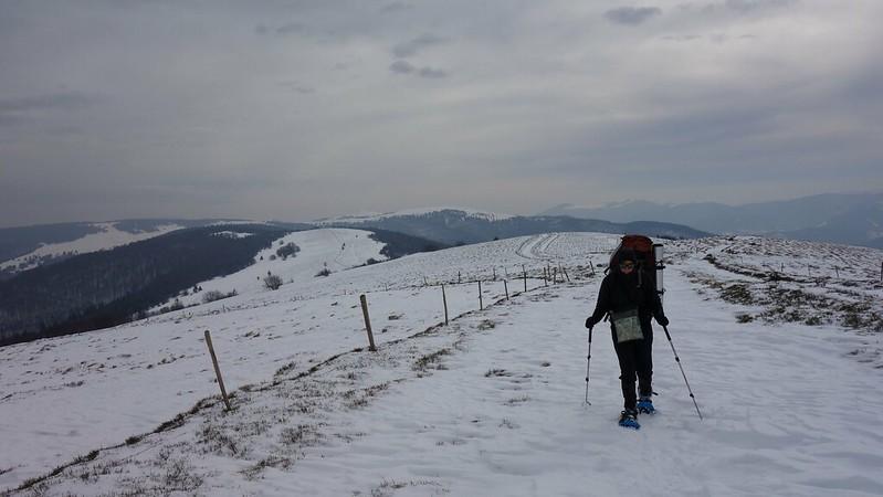 Vorige winter ging ik samen met Ivo op tocht in de winterse Vogezen, en ik ga deze trekking nu begeleiden voor Hiking Advisor vzw.