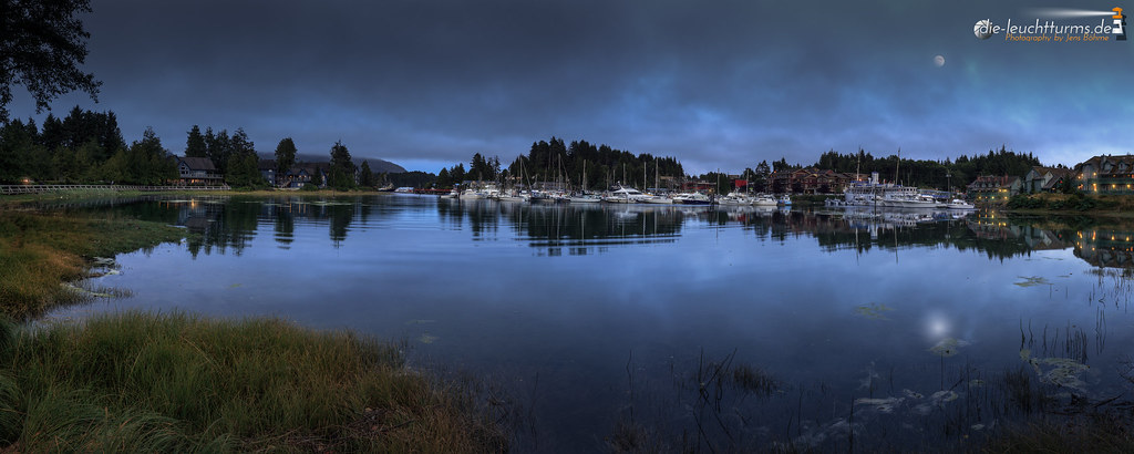 Blue hour on Ucluelet Harbour
