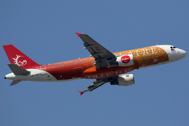 AirAsia Zest | Airbus A320-200 | RP-C8974 | Solaire Resort livery | Hong Kong International
