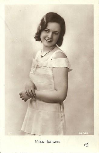 Miss Hungary 1931: Maria von Tasnady