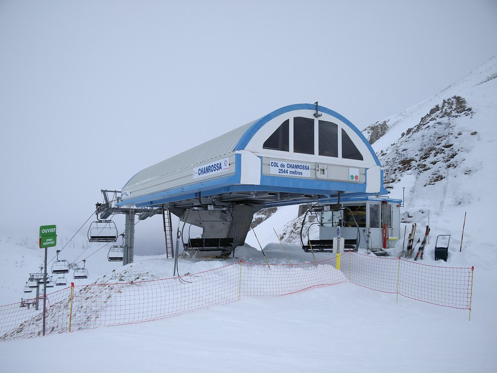 Chanrossa chairlift at 2,544m