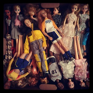 Oh, how I miss thee. #doll #collection packed still..for #365days project, 41/365.