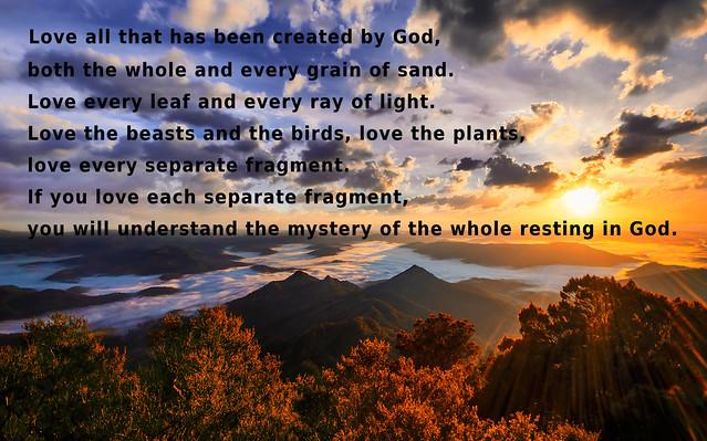 Love God's Creation