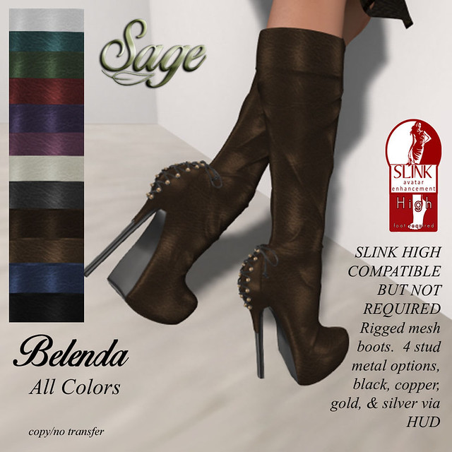 Sage - Belenda Boots