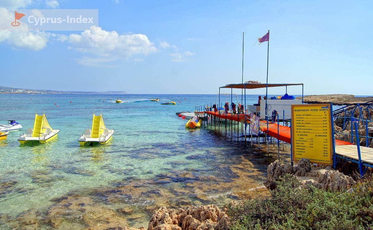 Makronissos Beach Overview  Ayia Napa  Cyprus   U2022 Travel Guide