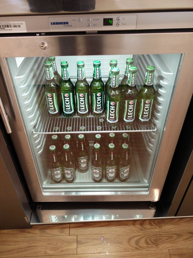 Beer in the fridge
