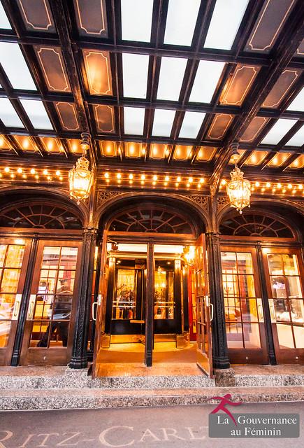 2015.11.05 Cocktail-conférence au Ritz-Carlton avec Anne-Marie Leroy, Première Vice-présidente de la Banque Mondiale (Washington)