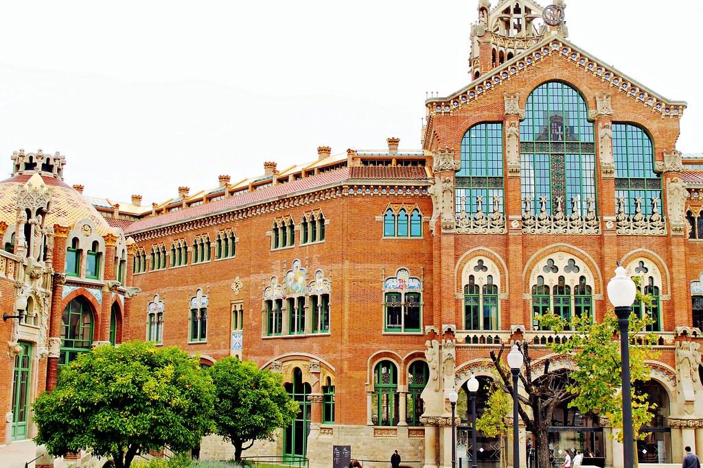 Drawing Dreaming - visitar Barcelona - Hospital de la Santa Creu i Sant Pau
