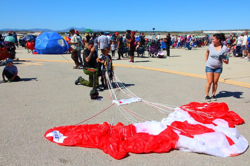 IMG_2952 Canadian SkyHawks Parachute Team