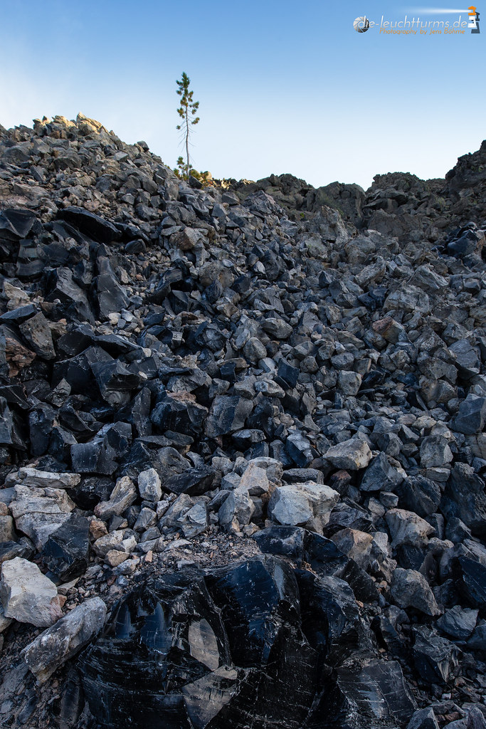 In the Big Obsidian Flow