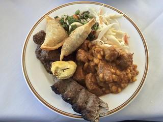 kabobi Buffet Sampler