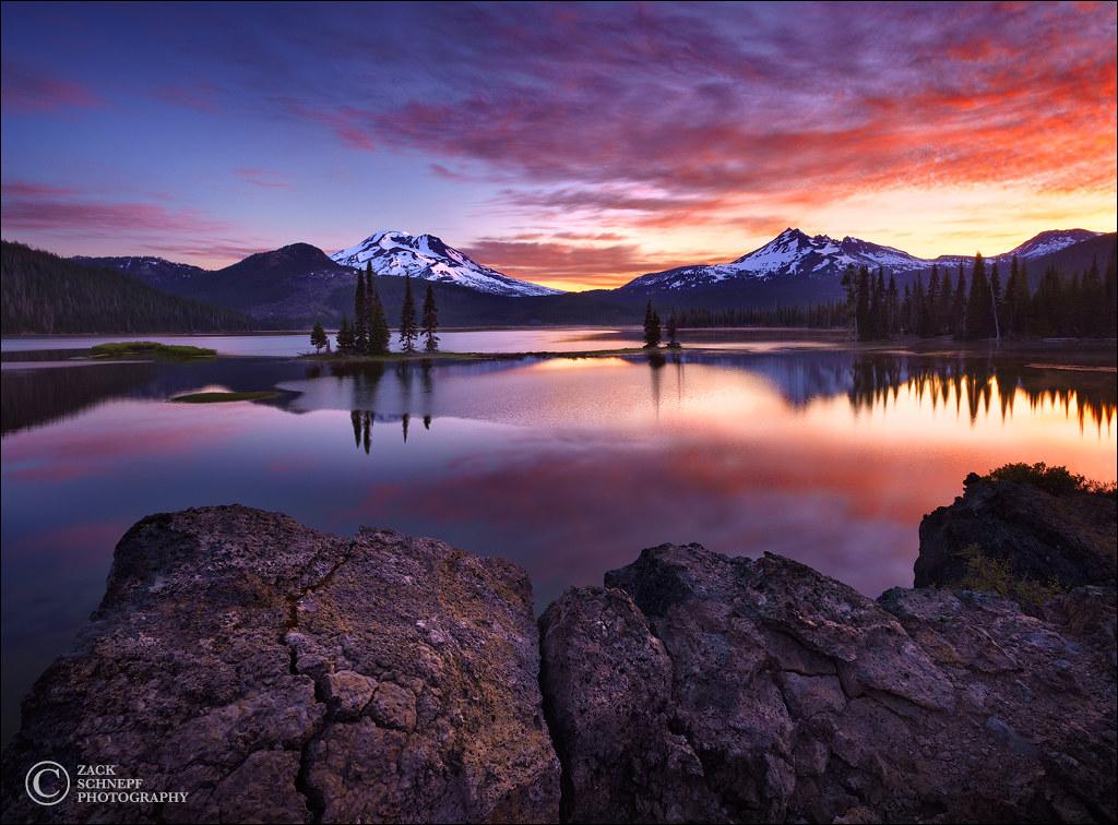 Sparks Lake Sunrise [1024x756] by Zack Schnepf