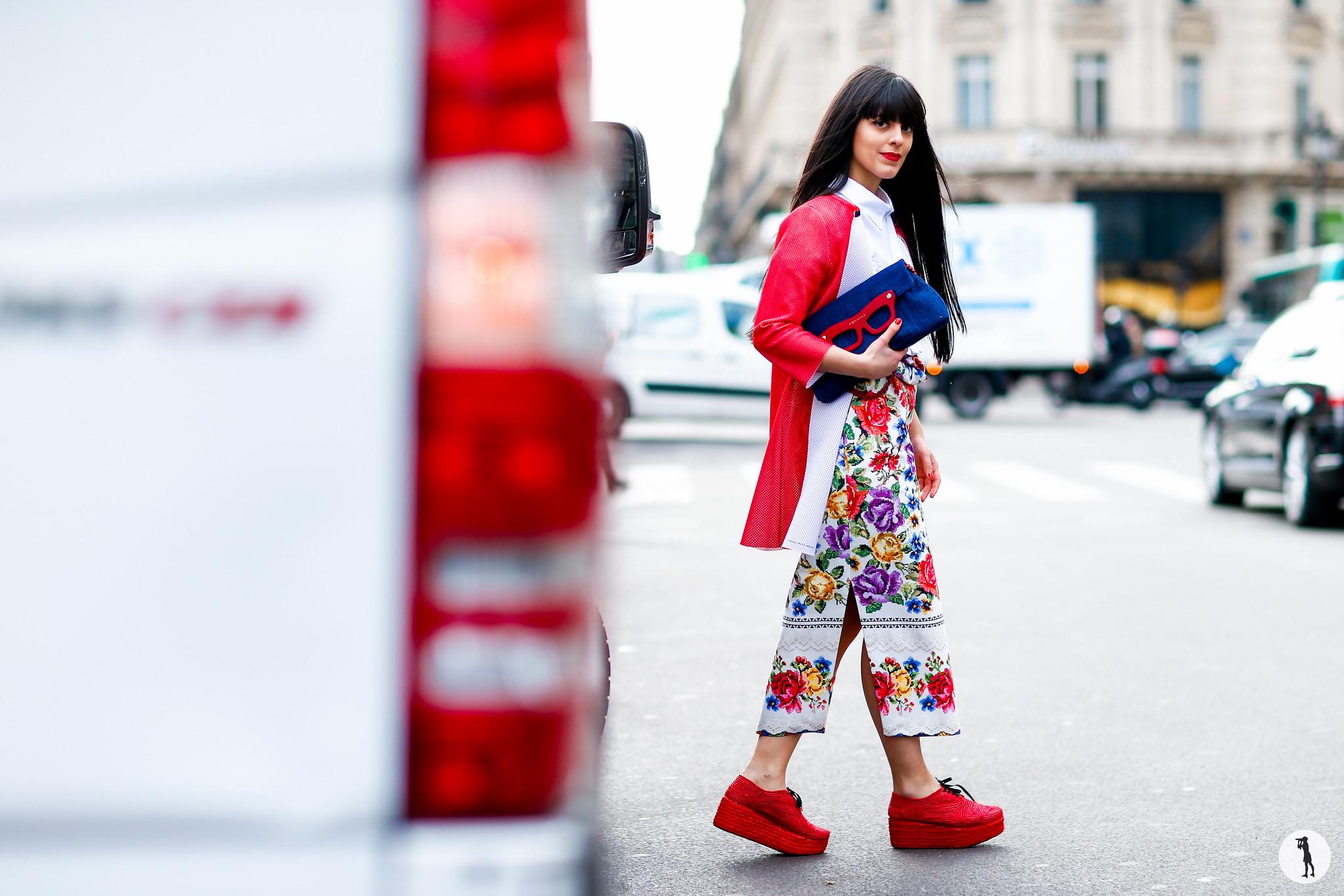 Laura Comolli Street style