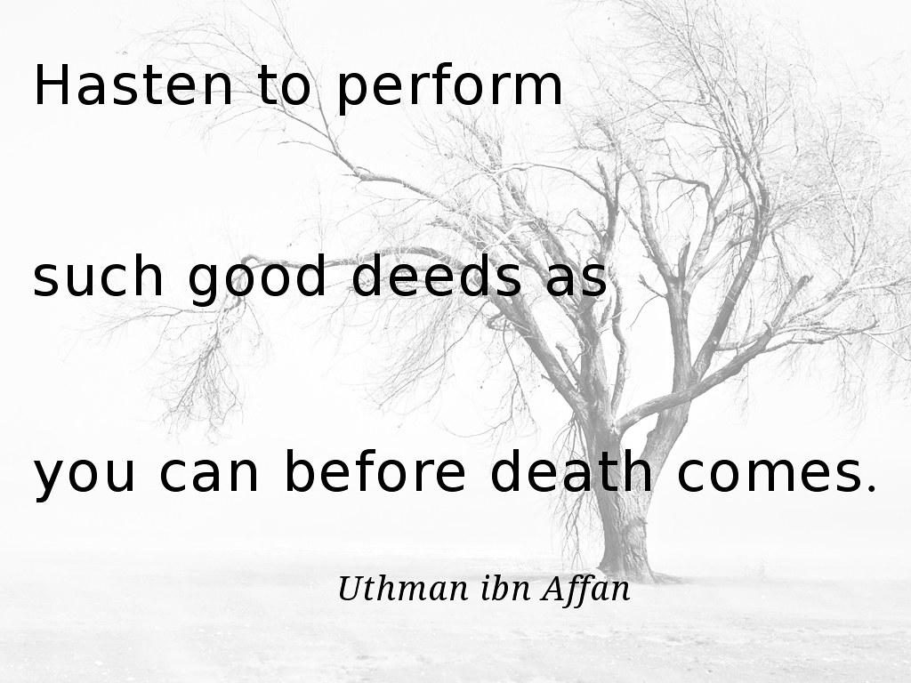 Death - Uthman