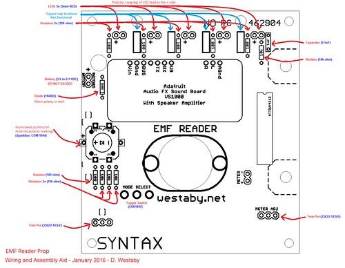 Step 1 - Back - Solder Parts