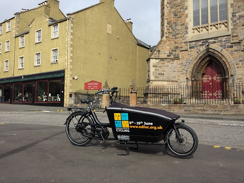 Newly branded Urban Arrow cargo bike