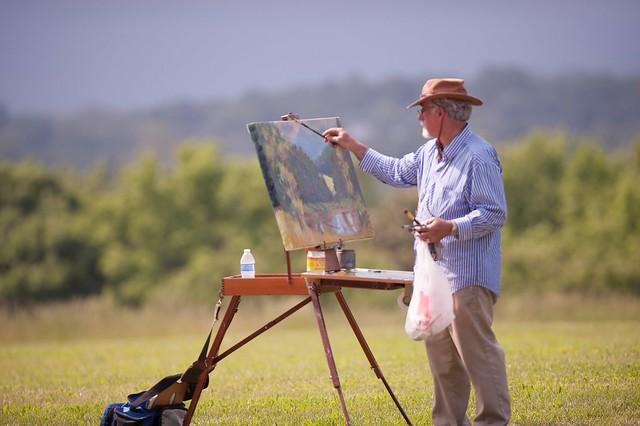 Roanoke artist Eric Fitzpatrick