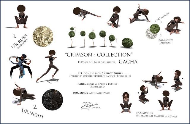ROQUAI's Crimson-Collection (GachaKey) @ PoseFair'16
