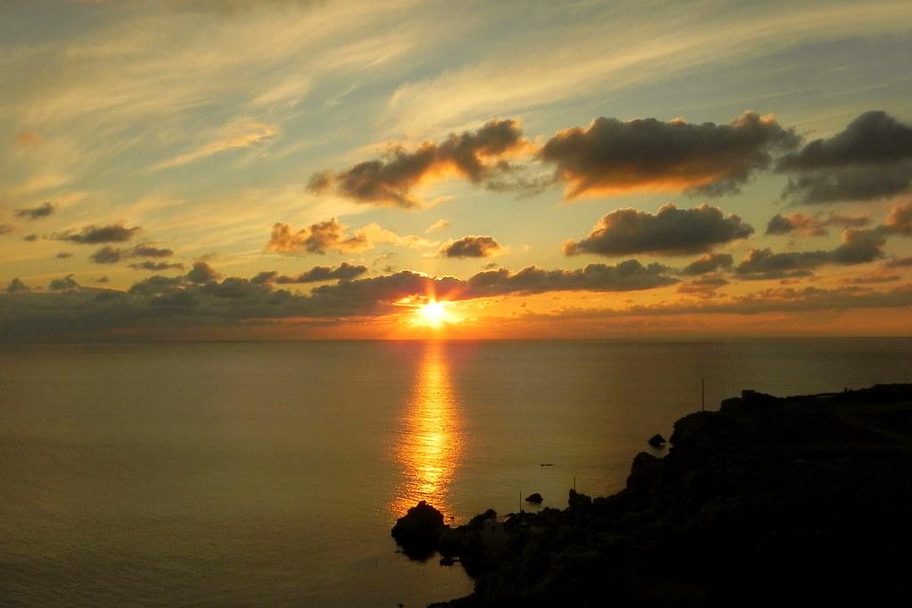 Malta Sunset 3. Nikon P100. DSCN8813.