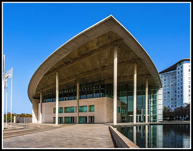 Дворец Конгрессов. Palacio de congresos - Valencia