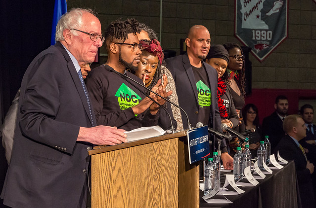 Sen. Bernie Sanders and Neighborhoods Organizing for Change Panel at #BlackForumMN