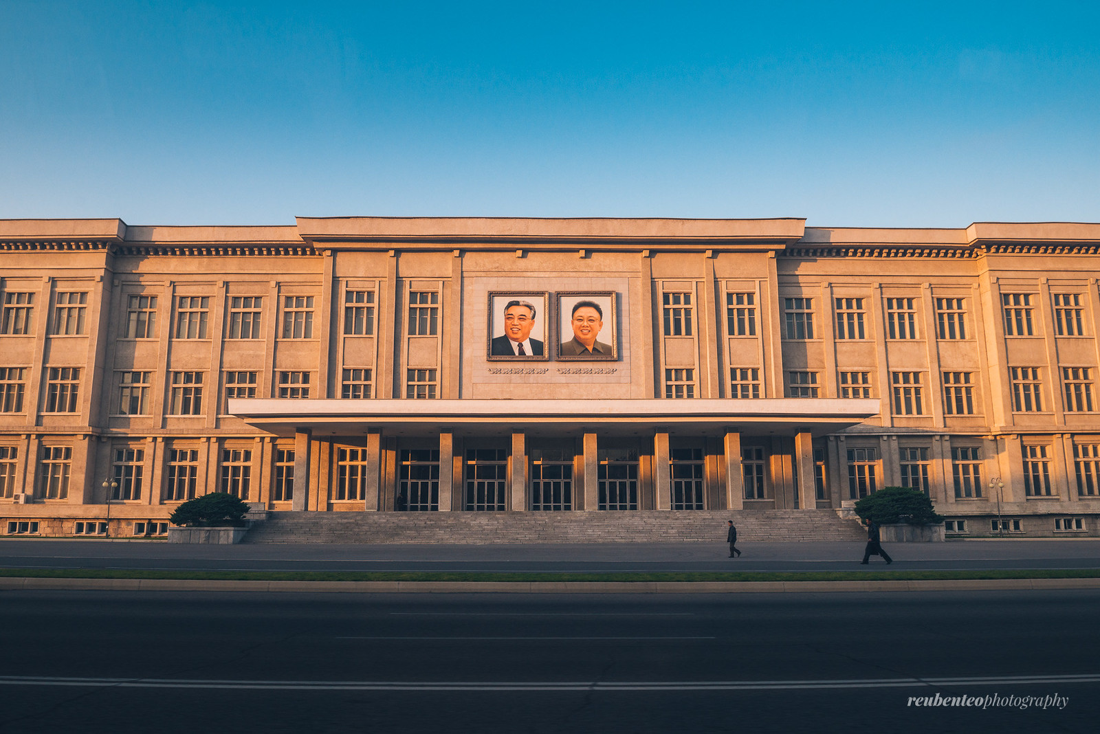 North Korean Government Building